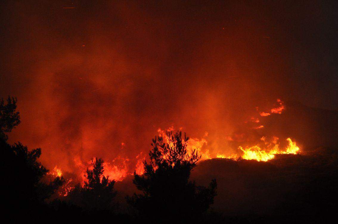Η φωτιά στην Καλαμωτή