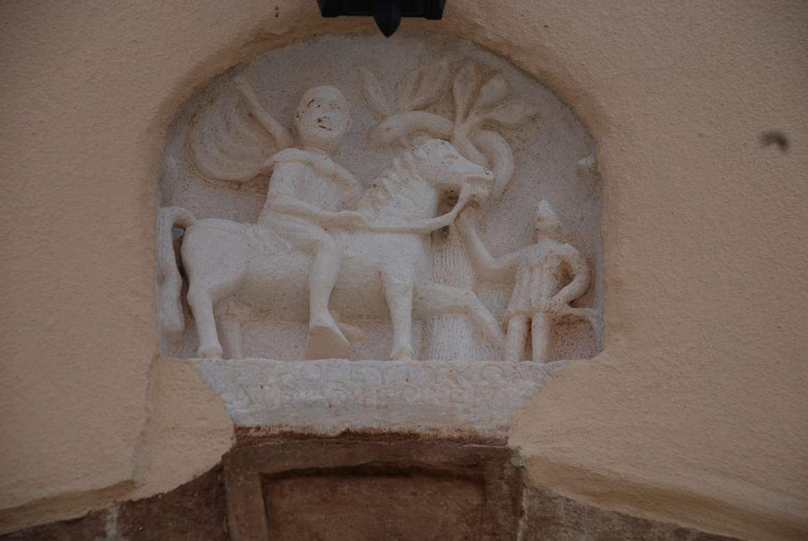 Το επιτύμβιο στο ναό του Αγίου Νικολάου