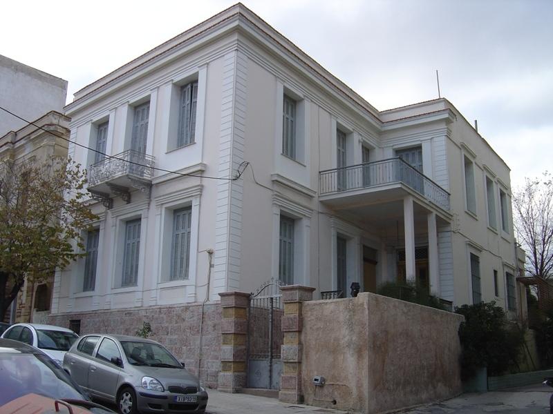 Οικία Γεωργιλή στον Καινούργιο Δρόμο της Χώρας