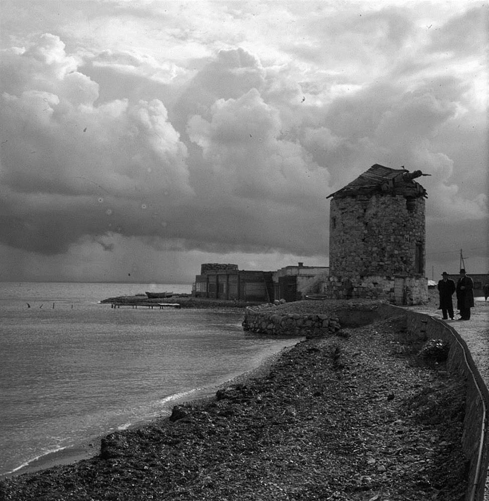 Δεκαετία 1960. Η περιοχή Τρεις Μύλοι. ΦΩΤ.: Αδαμάντιος Π. Σαλιάρης, αρχείο Π. Δ. Σαλιάρη