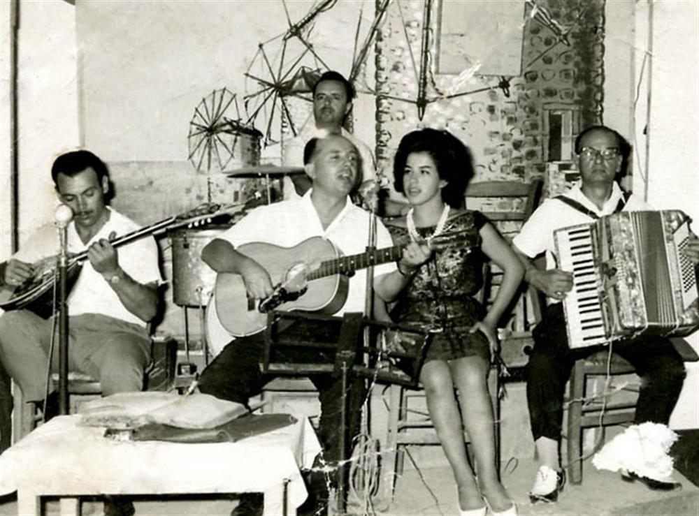 Δεκαετία 1960. Το κέντρο διασκέδασης «Τρεις Μύλοι». ΦΩΤ.: αρχείου Ηλ. Εγγλέζου