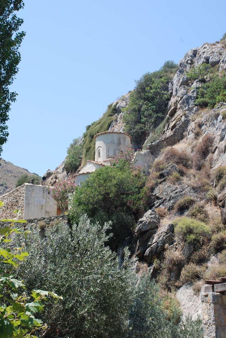 Άποψη του ναού της Παναγίας