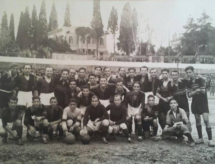 Φωτογραφία του αγώνα του 1930 από το αρχείο της Karsiyaka S.K.