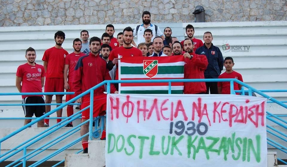 Από την επίσκεψη της karsiyaka TV στο Φαφαλιείο Στάδιο