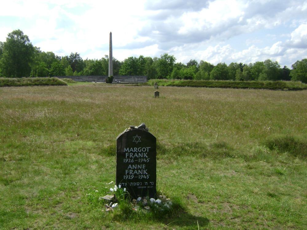 """""""κοπέλλες του Μπέλσεν, μην είδατε την αγάπη μου;.."""" - η Άννα Φρανκ και η αδερφή της πέθαναν εδώ"""