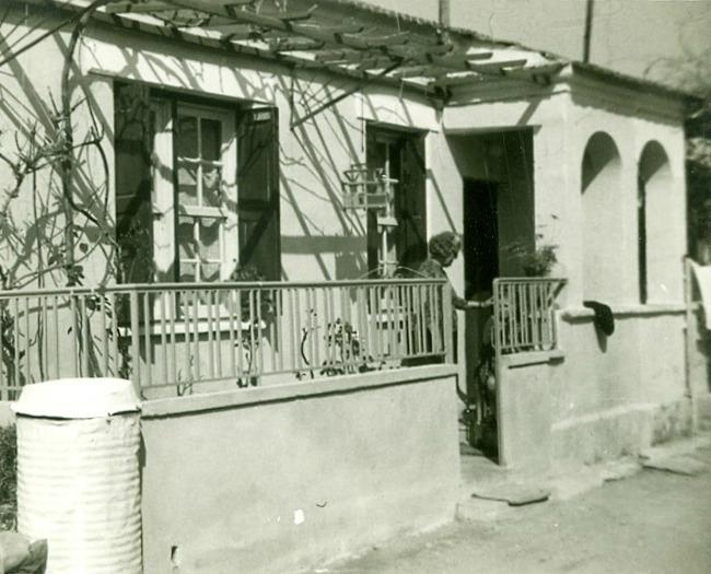 Τυπικό σπίτι του Νέου Συνοικισμού Βαρβασίου (Αρχείο Ν. Μίτση)
