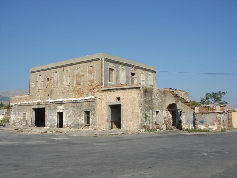 Οικία Καρδασιλάρη, όψη από το πρώην περιβόλι