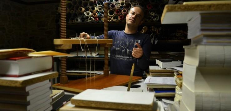 Η τέχνη της Βιβλιοδεσίας στη Χίο