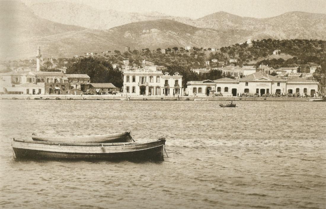 Το παλιό τελωνείο. Τσάγκαρη-Ξανθάκη Χίος 100 χρόνια φωτογραφίας