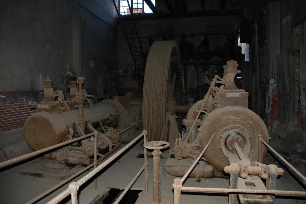 Άποψη του μηχανοστασίου