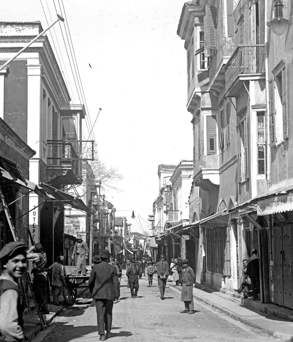 Η Απλωταριά στα μέσα, περίπου, της δεκαετίας του 1920 σε στιγμιότυπο Π.Παπαχατζιδάκη- Φωτ. αρχείο Μουσείου Μπενάκη