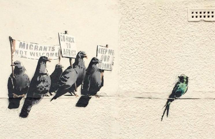 Γκράφιτι του Banksy