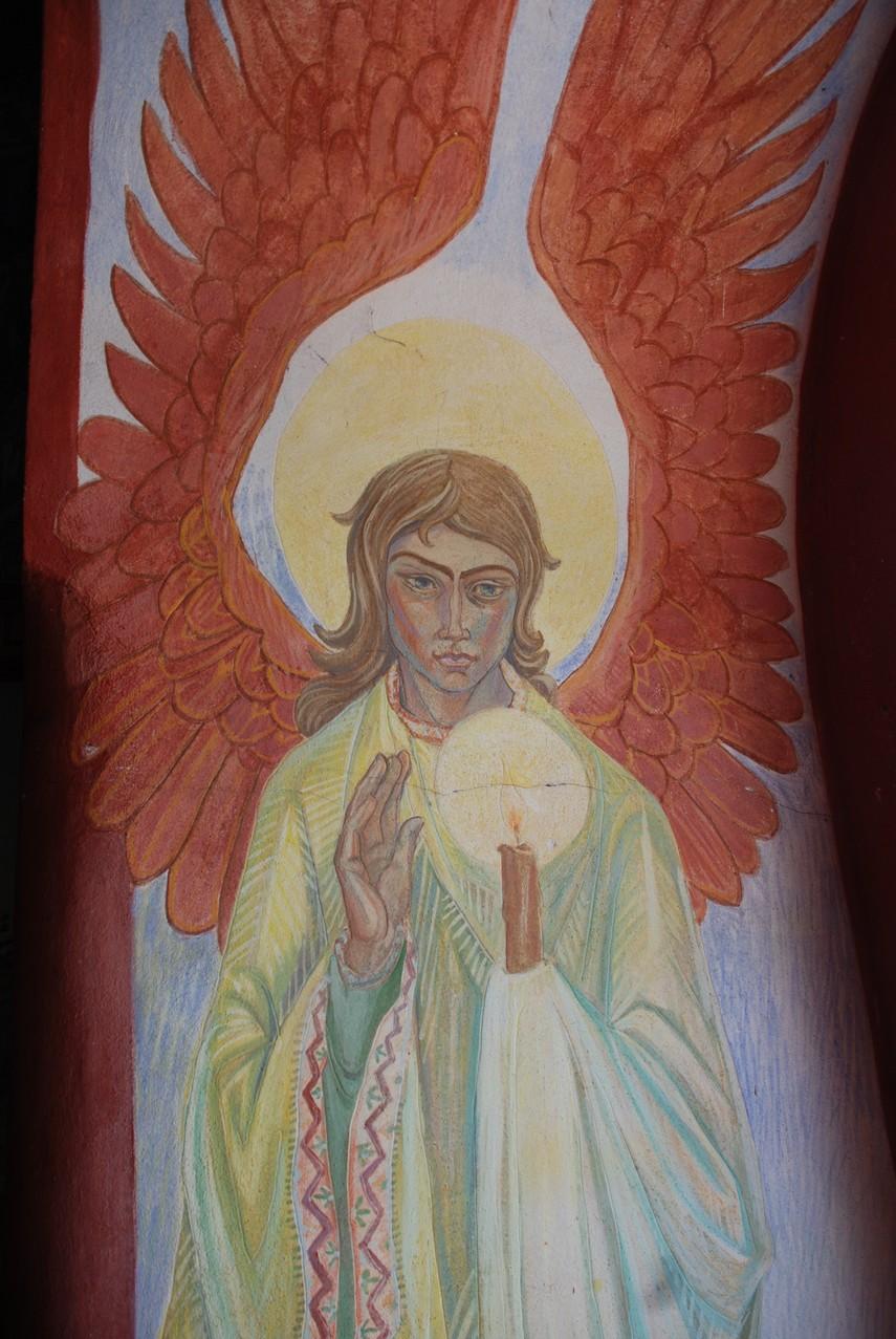 Ο άγγελος με το κερί