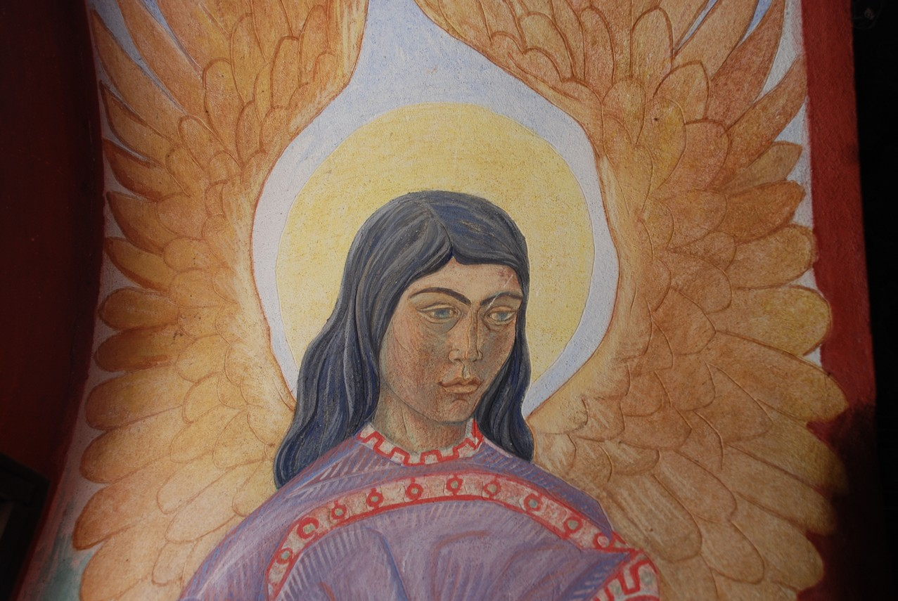 Ο άγγελος με το θυμιατό (λεπτομέρεια)
