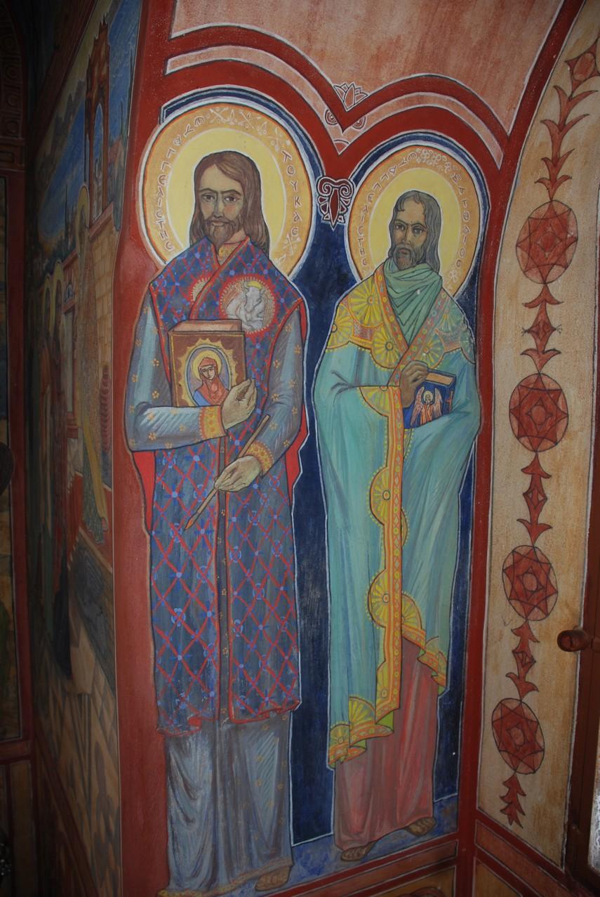 Οι Ευαγγελιστές Λουκάς και Ματθαίος