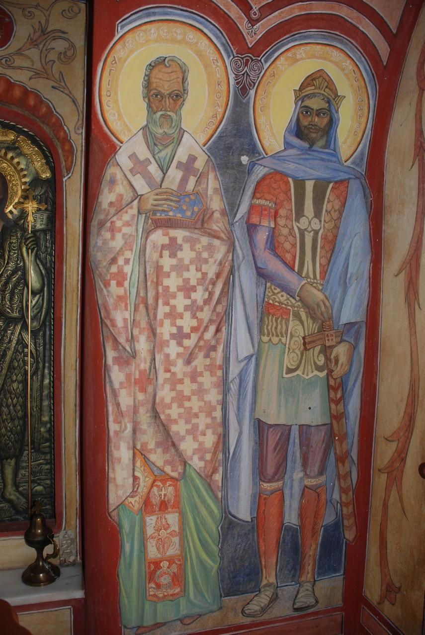 Οι Άγιοι Νικόλαος και Ισίδωρος
