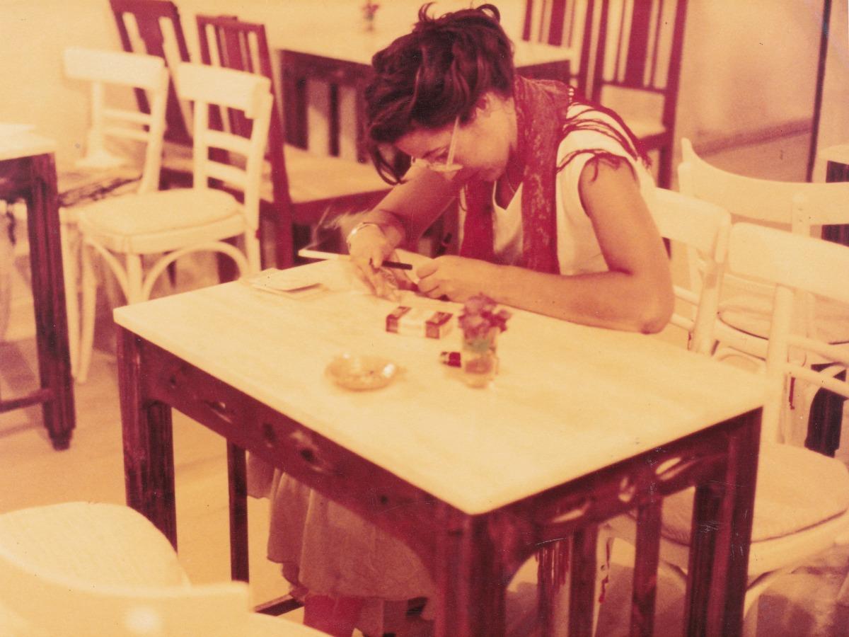 Η Στέλλα Τσακίρη στη Βαβέλ
